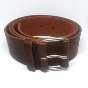 Y's by Yohji Yamamoto Leather Brown Belt
